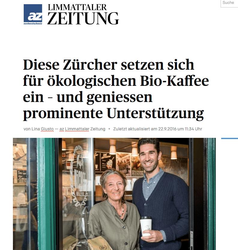 Limmattaler Zeitung22.9.2016